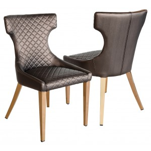 Stamford Rose Gold Dining Chair