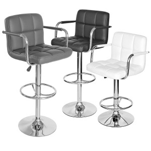Coco Bar Stool in Grey, Black or White