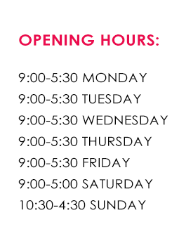 Feblands opening times