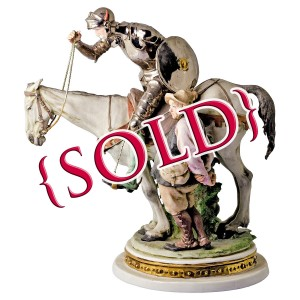 Don Quixote and Sancho Panza by Giuseppe Cappé - Sold