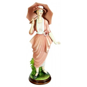 Lady in Pink Figurine