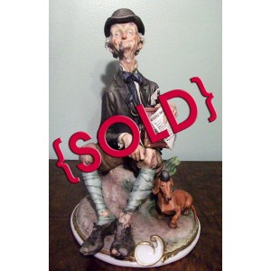 Organ Grinder by Giuseppe Cappé - SOLD