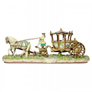 Capodimonte Coach and Horses Completely Restored