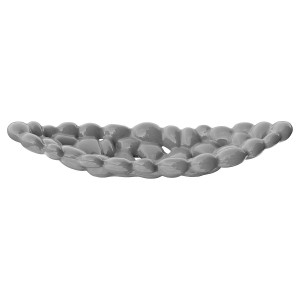 Ceramic Grey Bubble Tray