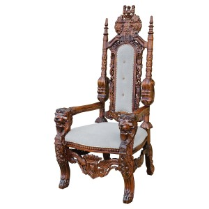 Traforata Small Throne Chair
