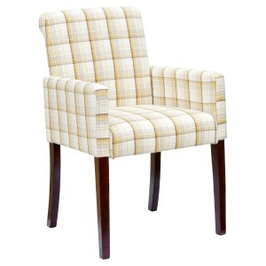 Sadie Bespoke Tub Chair - Tartan Fabric