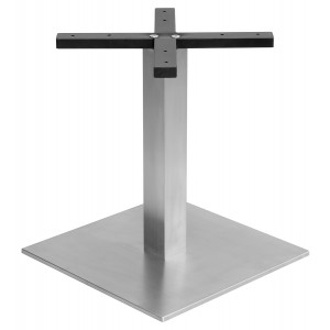 Square Stainless Steel Coffee Table Base