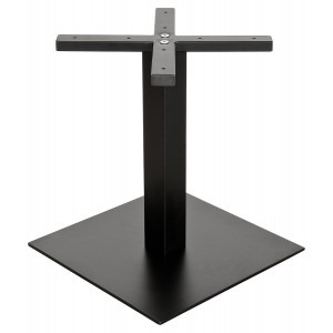 Square Black Matt Coffee Table Base