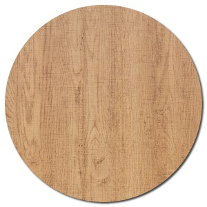 Melamine Round Table Top - 60cm