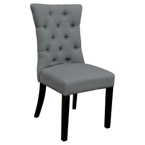 Sanderson Dining Chair in Grey