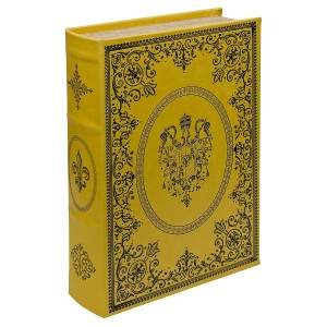 Gold Crest Storage Book Box