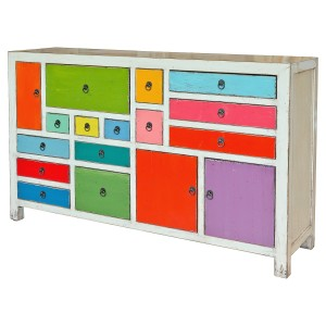 Multicoloured Large Sideboard