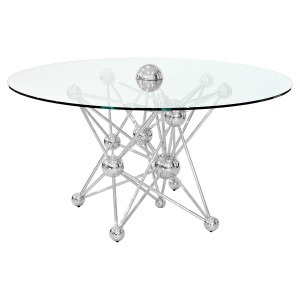 Molecular Metal Dining Table