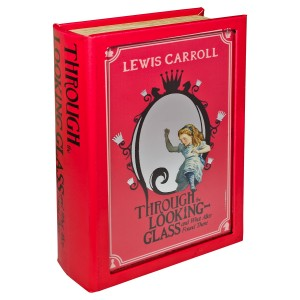 Through the Looking Glass Storage Book Box - Front