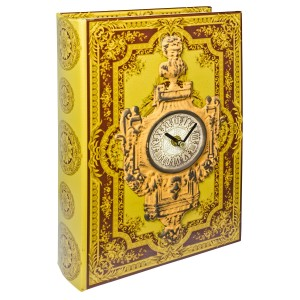 Clock Storage Book Box - Front