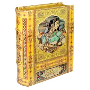 Indian Princess Storage Book Box - Front