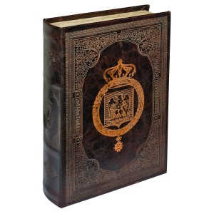 Bronze Eagle Storage Book Box - Front