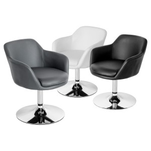 Bucketeer Swivel Dining Chair