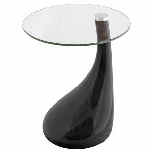 Nebula Side Table in Black Gloss