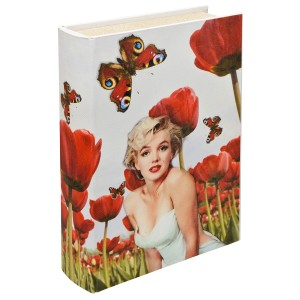 Marilyn Monroe Storage Book Box