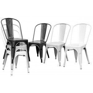 Tolix Replica Stacking Metal Chair