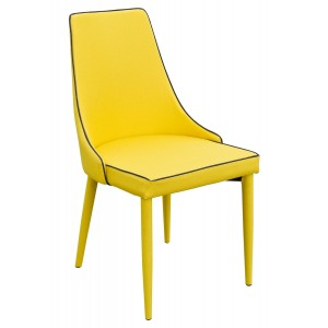 Duncan Dining Chair - Yellow