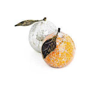 Mosaic Glass Oranges