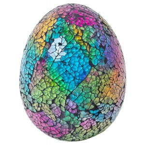 Feberge Mosaic Glass Egg