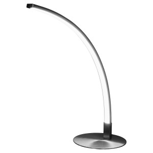 L.E.D Curved Table Lamp