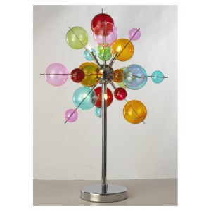 Multicolour Ball Table Lamp
