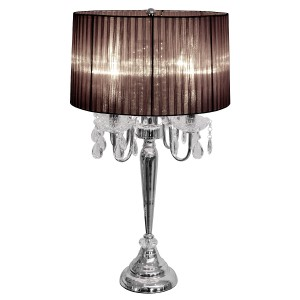 Beaumont Four Light Table Lamp - Black
