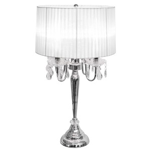 Beaumont Four Light Table Lamp - White