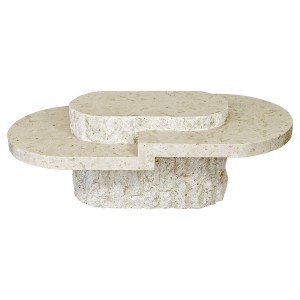 Birma Mactan Stone Coffee Table