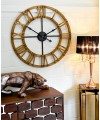 Large Round Wooden Wall Clock in our Showroom
