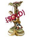 Childhood Swing by Bruno Merli - Sold