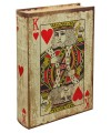 Playing Card - King of Hearts Storage Book Box