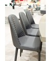 Riversway Grey Dining Chair in our Showroom