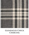 Gleneagles Check - Charcoal
