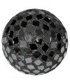 Large Mosaic Polyform Ball - Black
