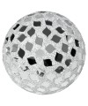 Large Mosaic Polyform Ball - Mirrored