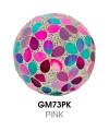 Medium Mosaic Polyform Ball - Pink