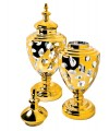 Small & Large Golden Urns