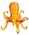 Glass Orange Octopus