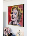 Marilyn Monroe Kinetic Wall Art - Right Side View