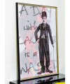 Charlie Chaplin Kinetic Wall Art in our Showroom