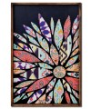Flower Patchwork Panel Wall Art - Right Aligned