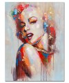 Marilyn Monroe Acrylic Canvas Wall Art