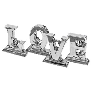 Ceramic Love Letters (Set of 4)