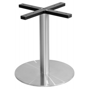 Round Stainless Steel Coffee Table Base