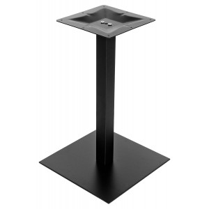 Square Black Matt Table Base